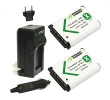 Bộ 2 pin 1 sạc Wasabi for Sony NP-BX1