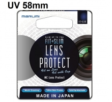 Marumi Fit and Slim MC Lens protect UV 58mm