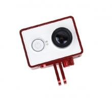 Khung viền kim loại Cho Camera Xiaomi, màu đỏ