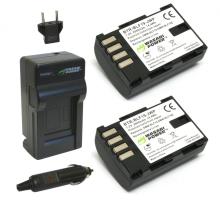 Bộ 2 viên pin và 1 sạc Wasabi cho Panasonic DMW-BLF19