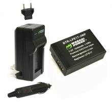 Bộ 1 viên pin và 1 sạc Wasabi for Canon LP-E17
