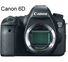 Canon 6D Body, WIFI GPS, Hàng Nhập Khẩu