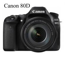 Canon 80D Kit  18-135mm IS Nano USM ( Hàng nhập khẩu )