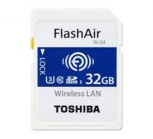 Thẻ nhớ Wifi Toshiba 32GB W-04, 90/70MB/s, 4K