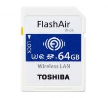 Thẻ nhớ Wifi Toshiba 64GB W-04, 90/70MB/s, 4K