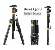 Chân máy ảnh Beike Q278, Tripod kết hợp monopd