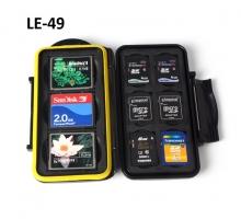 Hộp đựng thẻ nhớ Backpacker LE-49 đựng 3CF, 6SD