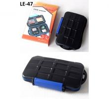 Hộp đựng thẻ nhớ Backpacker LE-47 đựng 2CF, 4SD, 4TF, 2XQD
