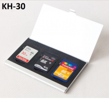 Hộp đựng thẻ nhớ KH-30 đựng 3SD, Hộp kim loại
