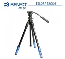 Chân máy ảnh Benro TSL08A S2CSH, củ quay