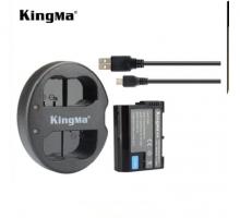 1Pin 1 Sạc Kingma cho pin Nikon EN-EL15