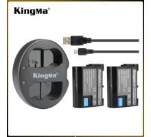2Pin 1 Sạc Kingma cho pin Nikon EN-EL15