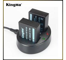 2 Pin 1 Sạc Kingma cho pin Fujiflim NP-W126