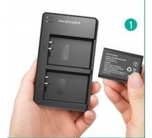1 pin và 1 Sạc  RAVPower LP-E10 RP-BC014