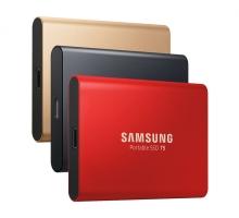Ổ cứng di động SSD Samsung  1TB External T5 USB 3.1 Gen 2 MU-PA1T0