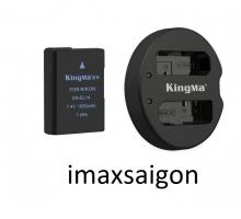 BỘ 1 PIN 1 SẠC ĐÔI KINGMA FOR NIKON EN-EL14