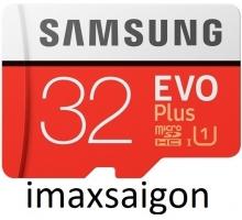 THẺ NHỚ SAMSUNG MICRO SDHC EVO PLUS 32GB (MODEL 2017)