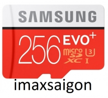 THẺ NHỚ SAMSUNG MICRO SDXC EVO PLUS 256GB (MODEL 2017)