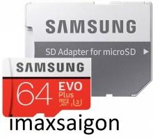 THẺ NHỚ SAMSUNG MICRO SDXC EVO PLUS 64GB (MODEL 2020)