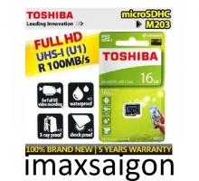 THẺ NHỚ TOSHIBA MICRO SDHC 16GB 100MB/S