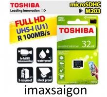 THẺ NHỚ TOSHIBA MICRO SDHC 32GB 100MB/S