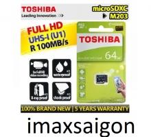 THẺ NHỚ TOSHIBA MICRO SDXC 64GB 100MB/S