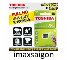THẺ NHỚ TOSHIBA MICRO SDXC 128GB 100MB/S