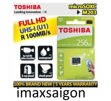 THẺ NHỚ TOSHIBA MICRO SDXC 256GB 100MB/S