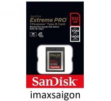 Thẻ nhớ Sandisk Cfast Express Type B 512Gb
