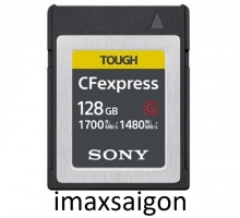 THẺ NHỚ CFEXPRESS TYPE B CARD SONY TOUGH 128GB 1700/1480MB/S