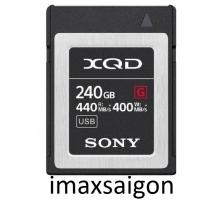 THẺ NHỚ XQD SONY 440/400 MB/S DÒNG G 240GB