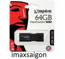 USB 3.0 KINGSTON DATATRAVELER 100 G3 64GB