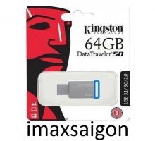 USB 3.1 / 3.0 KINGSTON DATATRAVELER 50 DT50 64GB