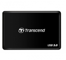 Đầu đọc thẻ All in One Transcend USB 3.1 Super Speed Multi-Card Reader for SD/SDHC/SDXC/MS/CF Cards (TS-RDF8W)