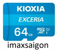 THẺ NHỚ MICROSD 64GB KIOXIA EXCERIA 100/15 MB/S