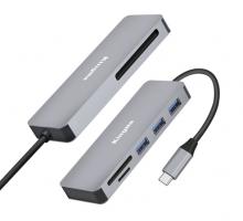 Đầu đọc thẻ Kingma BMU011 USB Type C dùng cho thiết bị máy tính xách tay, điện thoại thông minh, máy tính bảng