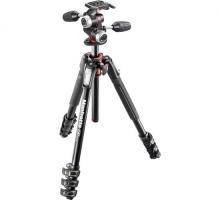 Chân máy ảnh Manfrotto 190 Alu 4-S Kit 3W Head