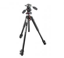 Chân máy ảnh Manfrotto 190 ALU 3-S Kit 3W Head