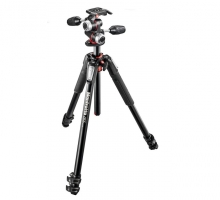 Chân máy ảnh Manfrotto 055 ALU 3-S Kit 3W Head