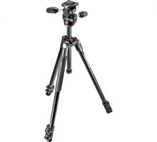 Chân máy ảnh Manfrotto 294 ALU 4-S Kit 3W Head