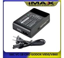 SẠC PIN GODOX VC-18 CHO GODOX V850/V860 SERIES