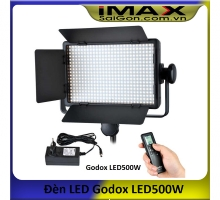Đèn Led Godox LED500W + Adapter +Remote