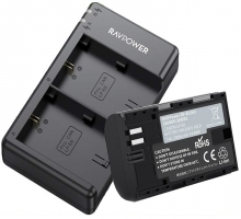 Bộ 1 Pin 1 Sạc máy ảnh Canon LP-E6, LP-E6N chính hãng Ravpower