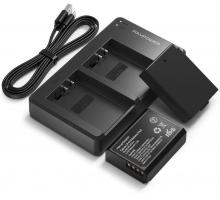 Bộ 2 pin và 1 sạc máy ảnh RAVPower cho Canon LP-E10 RP-BC014
