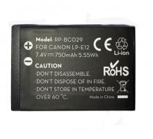 Pin máy ảnh Ravpower cho Canon LP-E12
