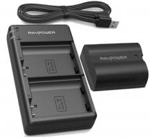 Bộ 1 pin 1 sạc máy ảnh Ravpower cho Nikon EN-EL15, EN-EL15A