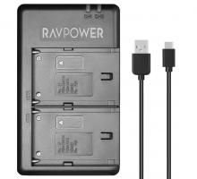 Sạc máy ảnh Ravpower cho Sony NP-F550