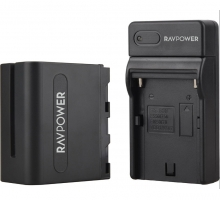 Bộ pin sạc máy ảnh Ravpower cho Sony NP-F970