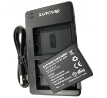 Bộ 1 Pin 1 Sạc máy ảnh Ravpower cho Fujifilm NP-W126S