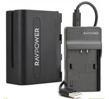 Bộ pin sạc máy ảnh Ravpower cho Sony NP-FV100